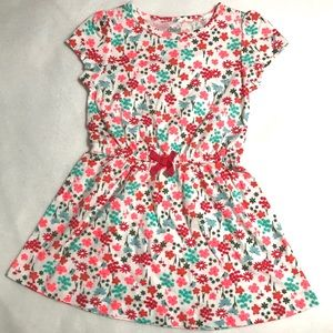 Child of Mine Floral Dress w/ Elastic Waistband 2T